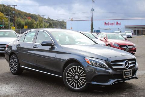 PRE-OWNED 2016 MERCEDES-BENZ C-CLASS C 300 AWD