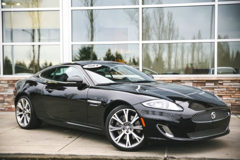 CERTIFIED PRE-OWNED 2014 JAGUAR XK 2DR CPE WITH NAVIGATION