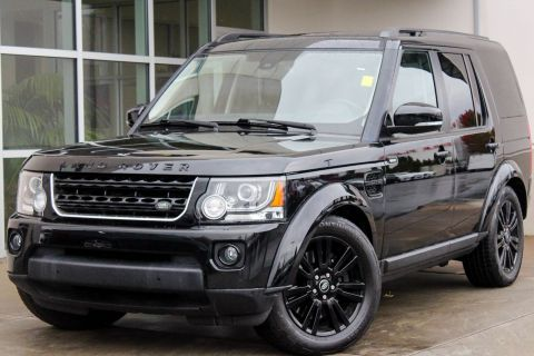 CERTIFIED PRE-OWNED 2014 LAND ROVER LR4 LUX 4WD