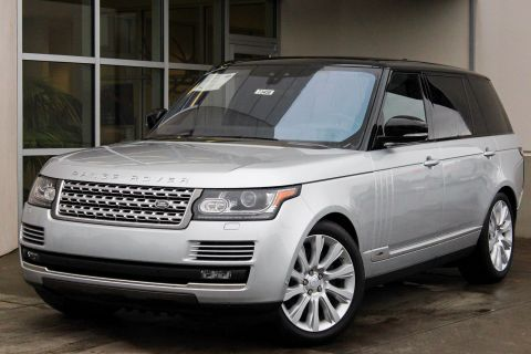NEW 2017 LAND ROVER RANGE ROVER SUPERCHARGED LWB WITH NAVIGATION & 4WD