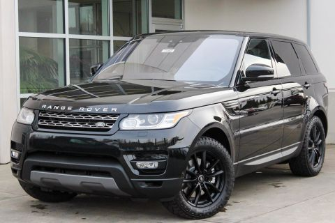 NEW 2017 LAND ROVER RANGE ROVER SPORT SE WITH NAVIGATION & 4WD
