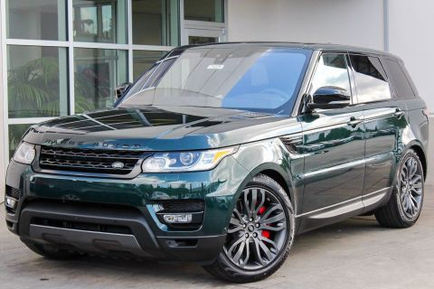 NEW 2017 LAND ROVER RANGE ROVER SPORT DYNAMIC WITH NAVIGATION & 4WD