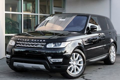 NEW 2017 LAND ROVER RANGE ROVER SPORT HSE WITH NAVIGATION & 4WD