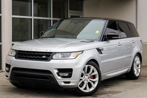 CERTIFIED PRE-OWNED 2014 LAND ROVER RANGE ROVER SPORT AUTOBIOGRAPHY WITH NAVIGATION & 4WD