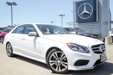 PRE-OWNED 2015 MERCEDES-BENZ E-CLASS E 350 SPORT RWD 4DR CAR