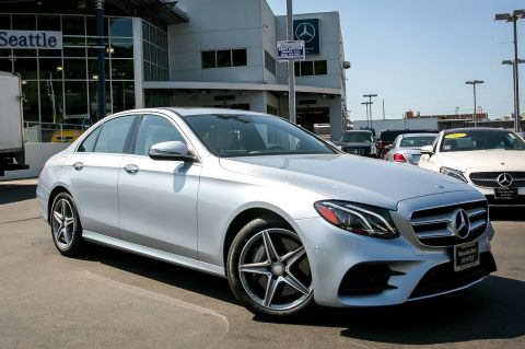 PRE-OWNED 2017 MERCEDES-BENZ E-CLASS E 300 SPORT AWD