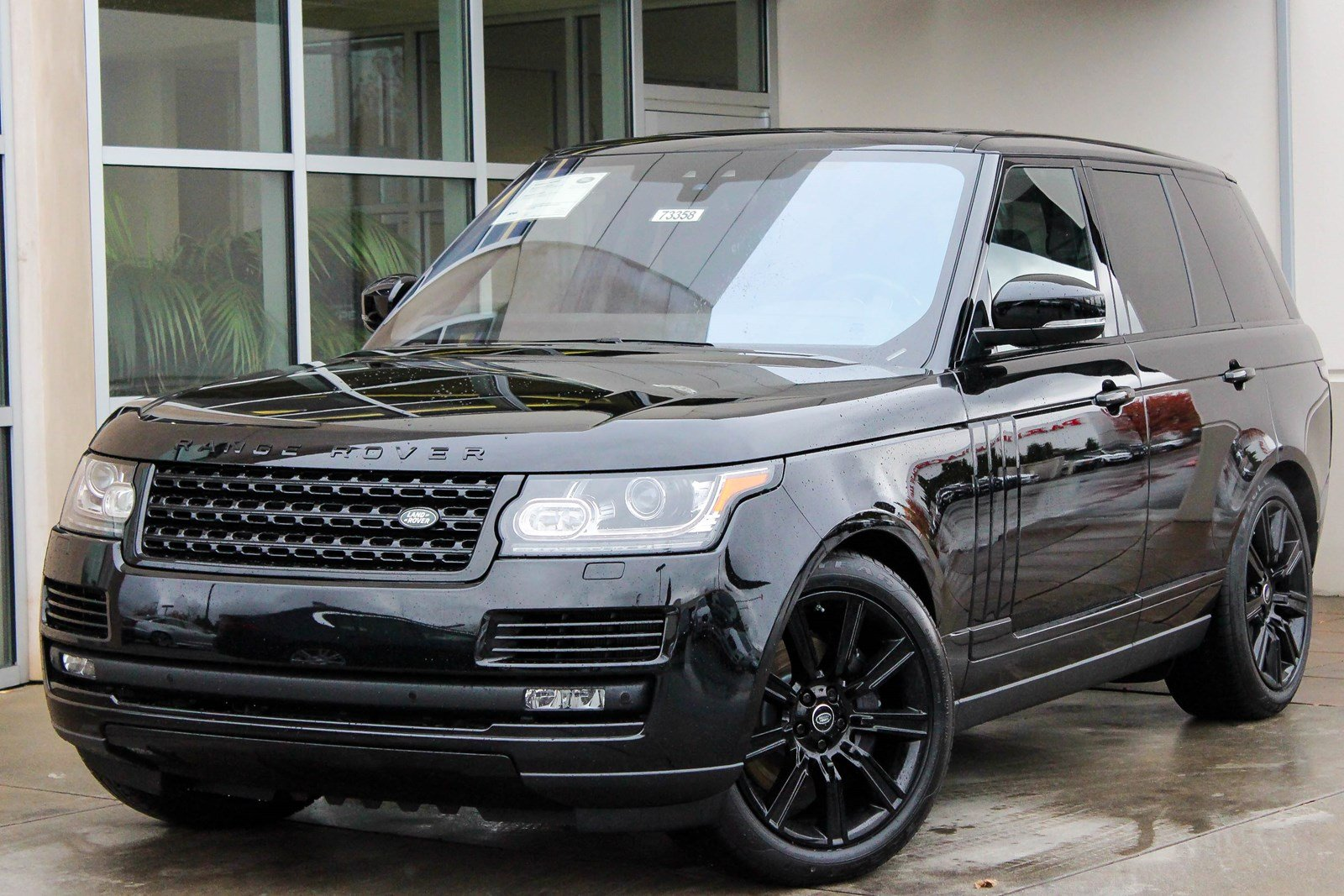 New 2017 Land Rover Range Rover Supercharged