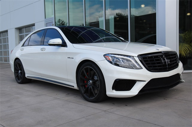 Charming Pre Owned 2015 Mercedes Benz S Class S 63 AMG®